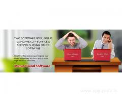 Mutual Fund software inform about RTA account statements, net holdings, transaction status