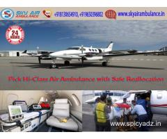 Get ICU Setup Air Ambulance Service in Dimapur with Emergency Facility
