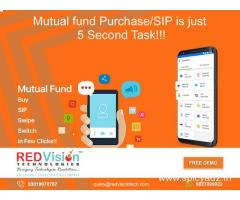 Mutual Fund software for investors rich look and advance view for invested assets