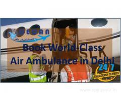 Decan Air Ambulance in Delhi Provides Experience Medical Crew