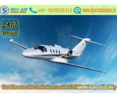 Get Affordable Price Air Ambulance Services in Kolkata with Doctor