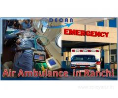 Decan Air Ambulance in Ranchi Has Easy Access to Everything