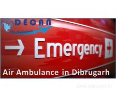 Decan Air Ambulance in Dibrugarh Include Experienced Staff