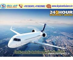Now Avail Inexpensive Air Ambulance in Ranchi by Sky Air Ambulance