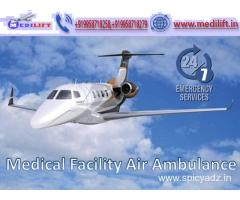 Get Medilift Air Ambulance in Mumbai with Medical Facility
