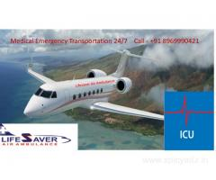 Choose Lifesaver Air Ambulance from Dimapur