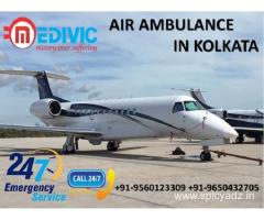 Now Avail Perfect Emergency Medical Air Ambulance in Kolkata by Medivic