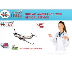 An Emergency King Air Ambulance Service in Delhi at Low Fare