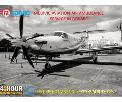 Get Incredible Survival Air Ambulance service in Bokaro by Medivic Aviation