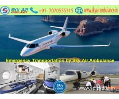 Hire Finest Patient Shifting in Chennai by Sky Air Ambulance