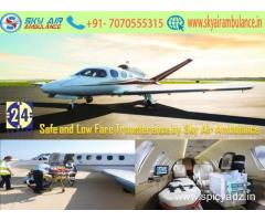 Take Preeminent ICU Air Ambulance in Mumbai by Sky Air Ambulance