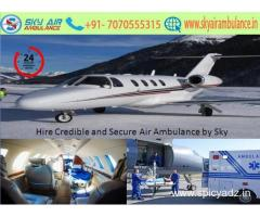 Select Sky Air Ambulance in Dimapur at Affordable Price