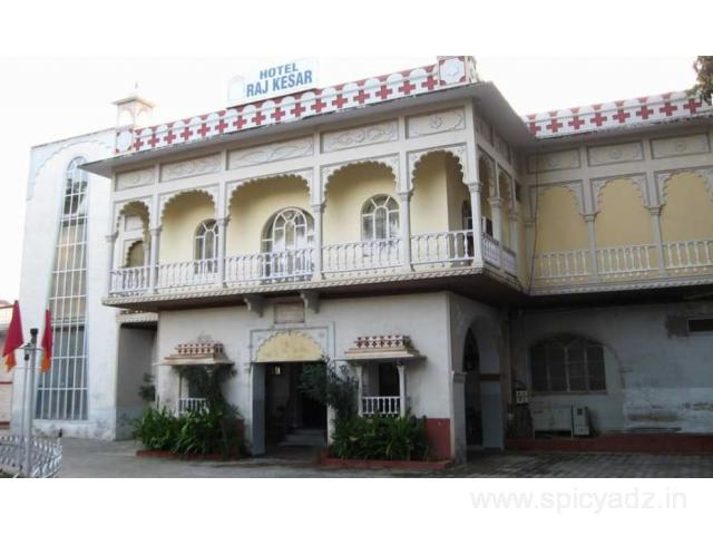 Get Hotel Raj Kesar in,Kota with Class Accommodation.
