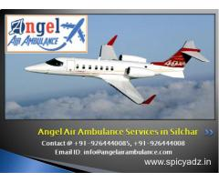 Hire the Best Angel Air Ambulance Services in Silchar