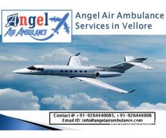 Medical flight Online – Angel Air Ambulance Services in Vellore