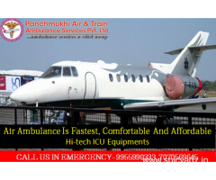 Budget Friendly ICU Air Ambulance Service in Delhi with Full ICU Facility