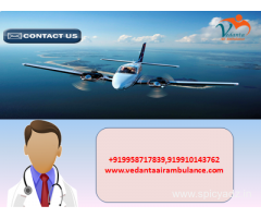 Vedanta Air Ambulance in Bangalore with Budget-friendly