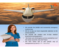 Low-budget Price by Vedanta Air Ambulance Service in Dibrugarh