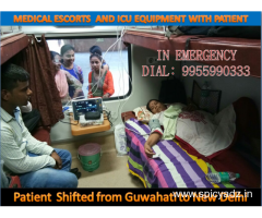 Panchmukhi Air Ambulance Service in Guwahati to Transfer of Emergency Patient