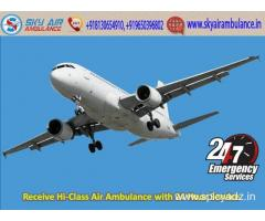 Book Sky Air Ambulance Services in Kolkata with Specialist Doctor