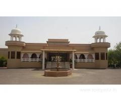 Get Heritage Resort in,Bikaner with Class Accommodation.