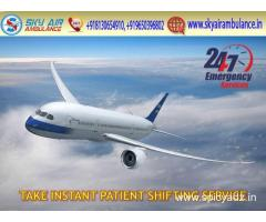 Use Safe Air Ambulance Service in Bhubaneswar with Full HealthCare