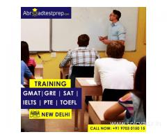 GRE, IELTS, PTE, TOEFL, GMAT and SAT Coaching at