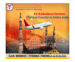 Secure Emergency Patient Transfer by Panchmukhi Air Ambulance Service in Delhi