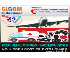 Quick Service by Global Air Ambulance from Delhi