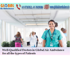 Fastest Global Air Ambulance in Ranchi at Low-cost