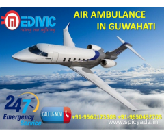 Get Well Known and More Supportive Air Ambulance in Guwahati by Medivic