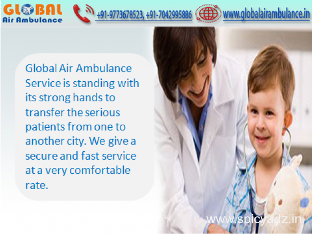 Global Air Ambulance in Delhi with Well-Experienced MD Doctors
