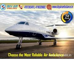 Take Sky Air Ambulance in Ranchi at a Lesser Cost