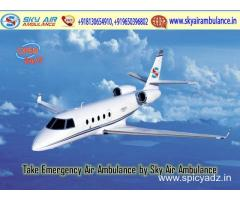 Choose Low Fare Air Ambulance from Bhubaneswar to Delhi by Sky