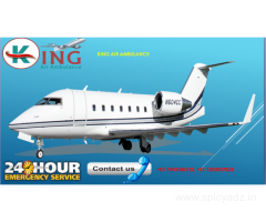 Air Ambulance in Delhi with Medical Facility by King Air
