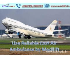 Hire the most Prominent Air Ambulance Service in Ranchi by Medilift