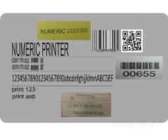 Industrial Inkjet Barcode Printer in Bangalore, Call:  +91-9886135117, www.numericinkjet.com