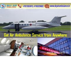 Use Air Ambulance in Delhi with World-Class Medical Features