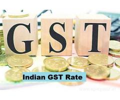Here is Available 100% Updated & Genuine Indian GST Rate for all Kinds of Items