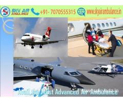 Use Air Ambulance in Raipur with Experienced Medical Crew