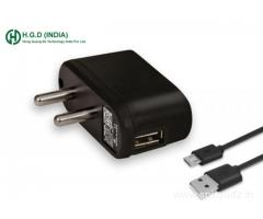 HGD 0.5 Amp USB Charger | HGD INDIA Mobile Phone Charger Manufacturer