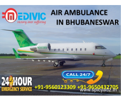 Get Effective Accessible Life Support Air Ambulance in Bhubaneswar by Medivic