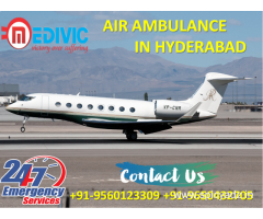 Get Unmatchable Life Care Air Ambulance Service in Hyderabad by Medivic