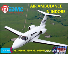 Take the Benefit Very Supportive Air Ambulance Service in Indore by Medivic