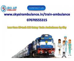 Pick India's Low-Cost Train Ambulance Service in Bangalore by Sky