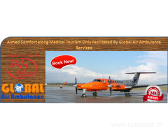 Global Air Ambulance Services in Delhi with the Curative Managements