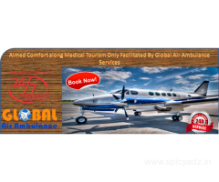 Global Air Ambulance Services in Kolkata with the Curative Management