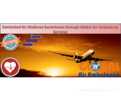 Global Air Ambulance Services in Chennai with the Curative Management