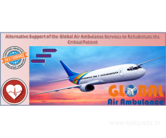 Global Air Ambulance Services in Ranchi with the Curative Management
