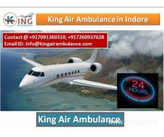 King Air Ambulance Services in Indore-Excellent Life Support